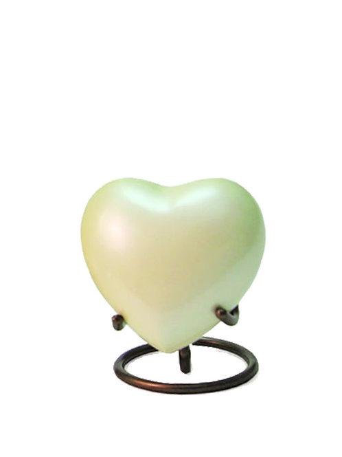 Satori Pearl Urn Heart