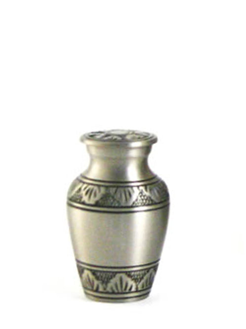 Athena Pewter Urn Keepsake