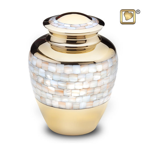 LoveUrns - Mother of Pearl Large