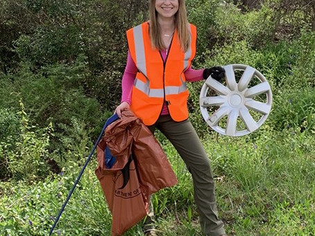 Town employee participates in recent litter sweep - A Keep RC Beautiful Mini Story