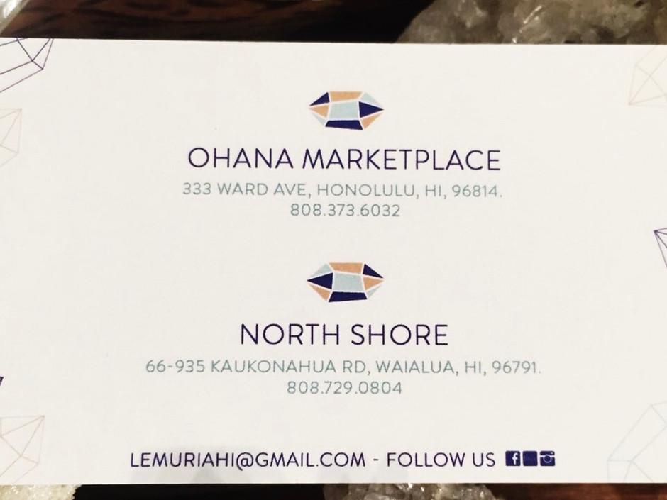Aloha! You can find products of Aloha Palo Santo in cristal shop Lemuria Oahu Hawaii