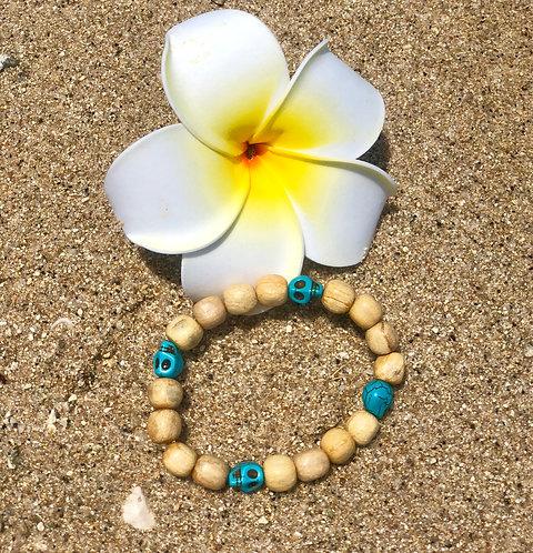 Bracelets witt turquoise skulls
