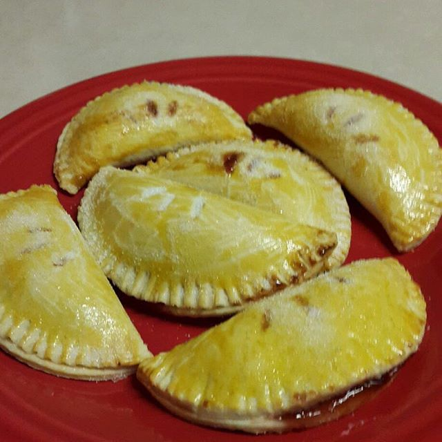 Cherry Empanadas!! Next to try, Caramel