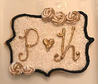 Wedding Cookies for my brother Patrick's