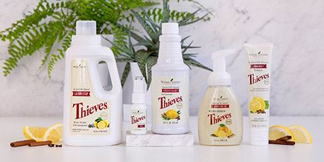 Chemical Free Cleaning with Thieves