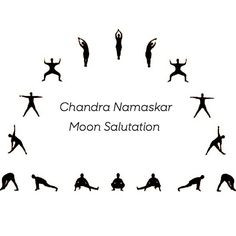 moon salutation - Chandra Namaskar