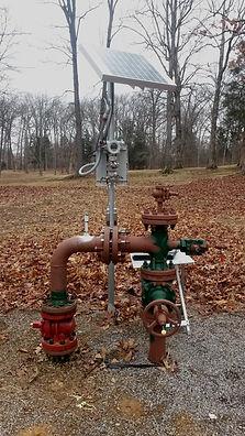storage field gas flowmeter