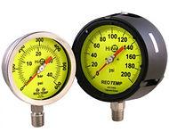Reotemp pressure gauges