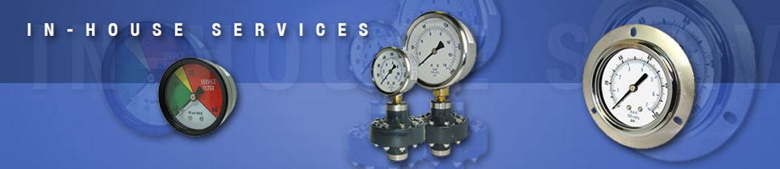 Reotemp Pressure Gauge Services