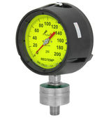 Reotemp process gauge with all welded seal