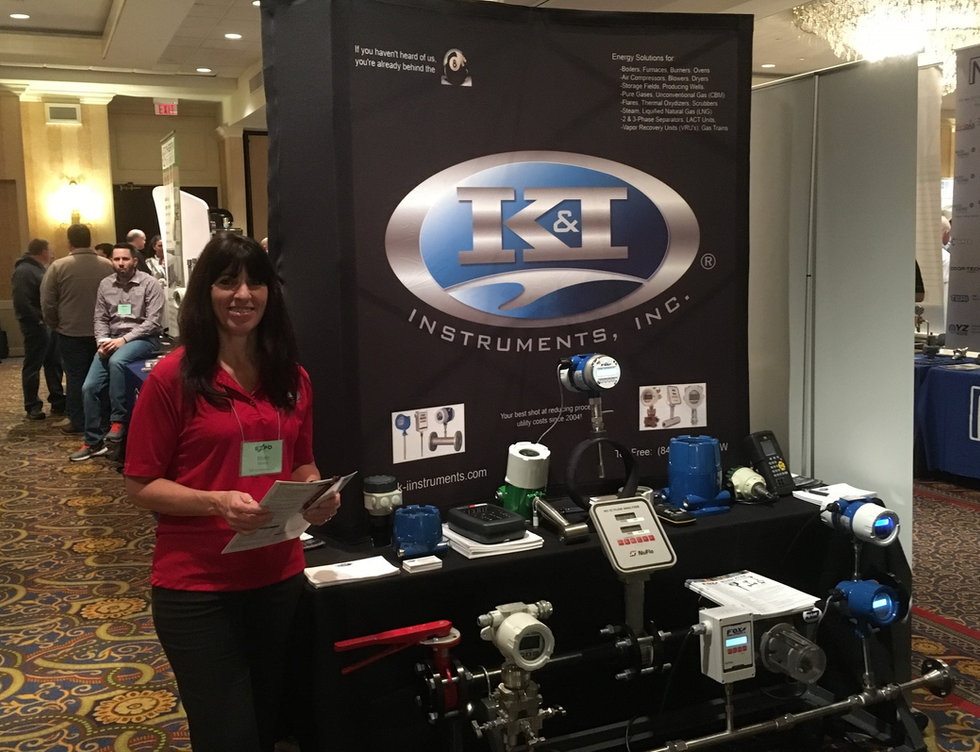 K&I Instruments, Fox Thermal, Cameron - Gas Flow Meter Trade Show Display