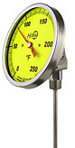 Reotemp bi-metal thermometers