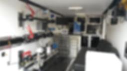 Gas metering flowstand