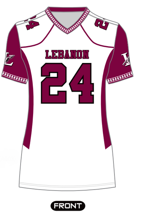 Ladies White Fan Jersey