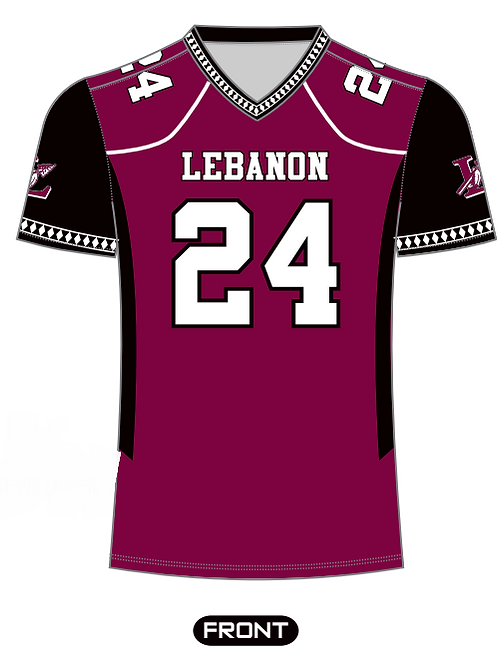 Youth Maroon Fan Jersey
