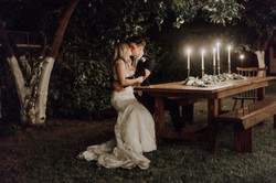 Kisses by candlelight