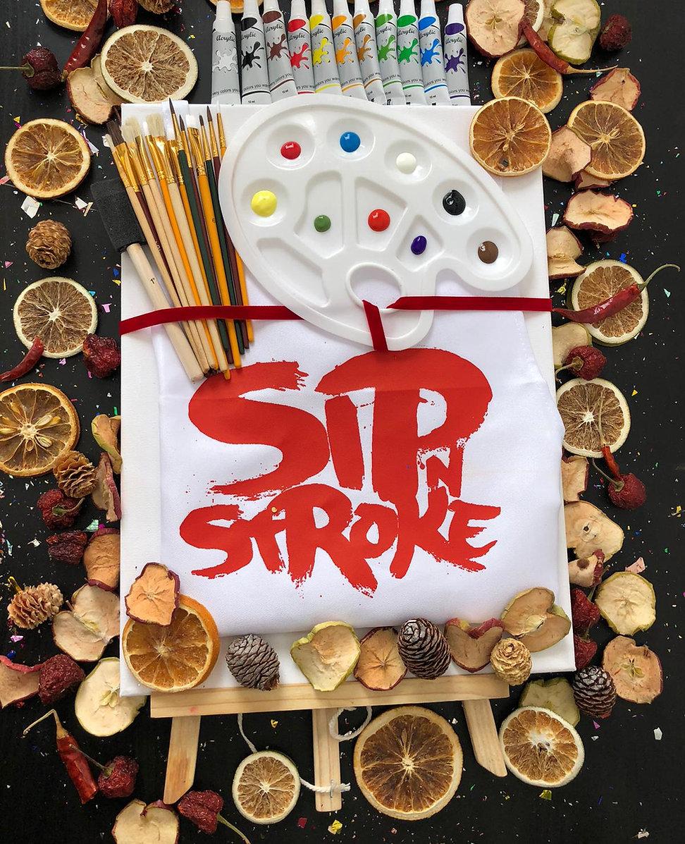 sip n stroke memory box