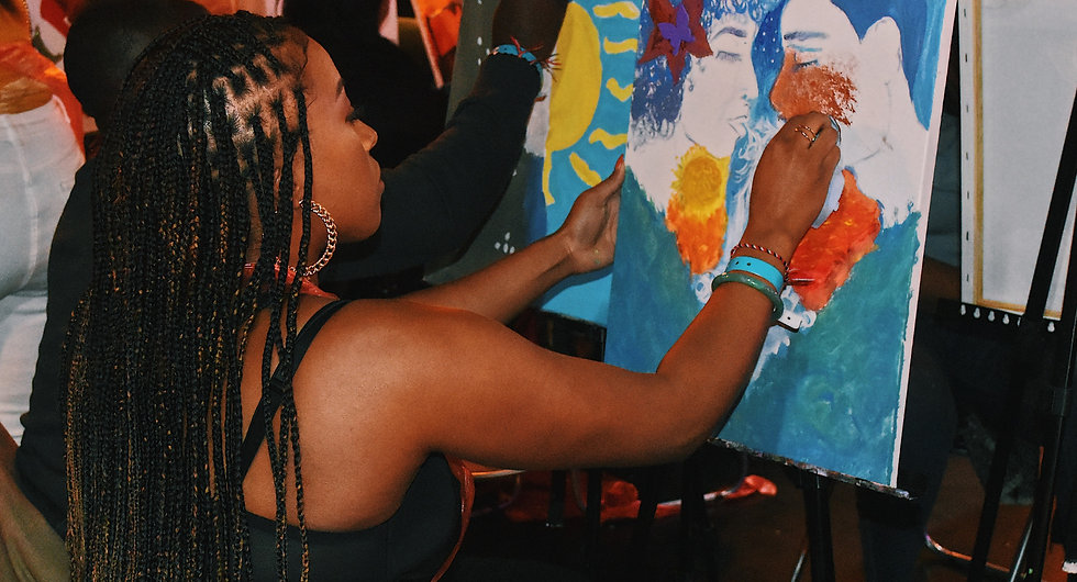 sunday session sip n stroke paint and sip picture