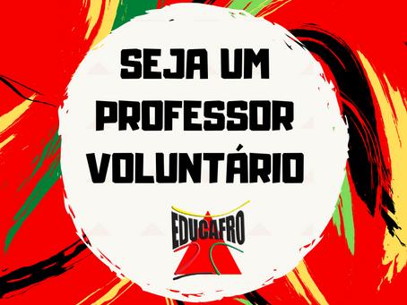 Seja um professor voluntário!
