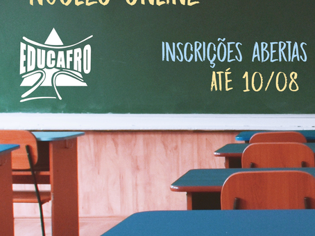 Educafro abre inscrições para núcleo online