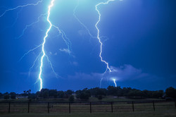 Two Lightning Bolts
