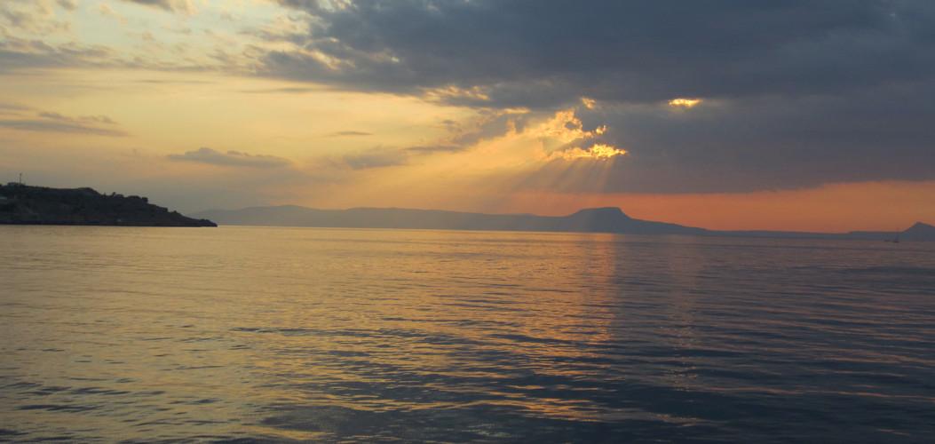 Rethymno Sonnenuntergang / Sundown