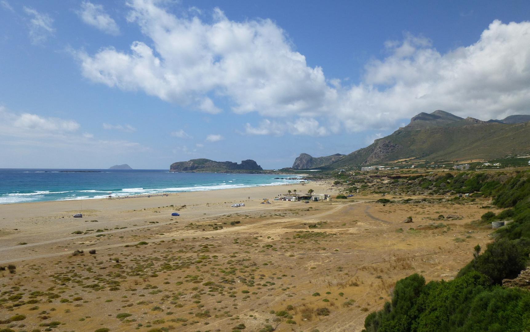 Falassarna Strand / Beach