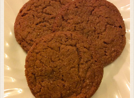 What's On The Table? ...                  Old Fashioned Ginger Snaps