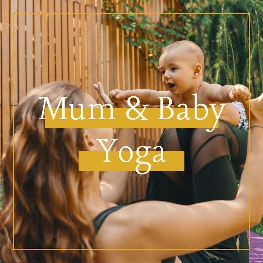 6-Week 'Mum & Baby Yoga' (Wednesdays 10am)