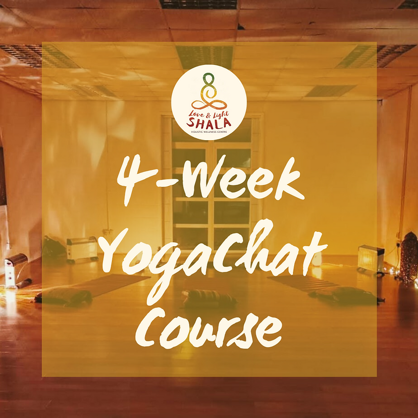 4-Week YogaChat Course (Thursdays 7.20pm)