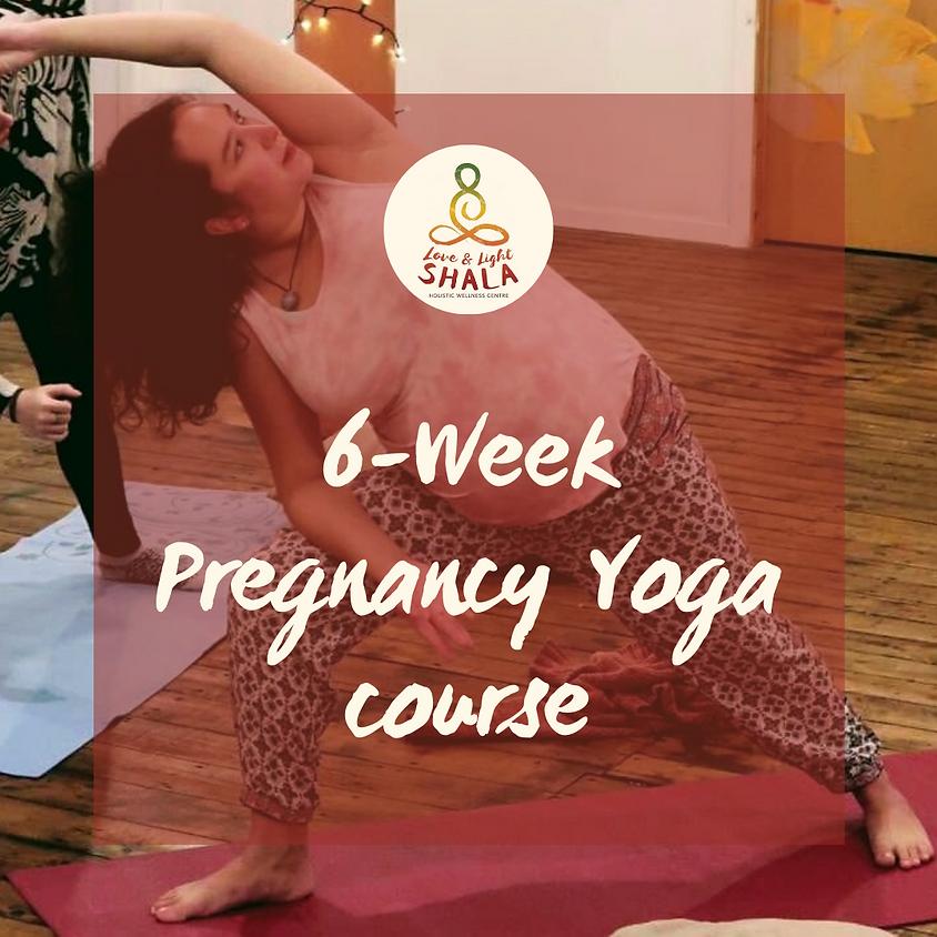 6-Week Pregnancy Yoga Course (Sundays 10am)