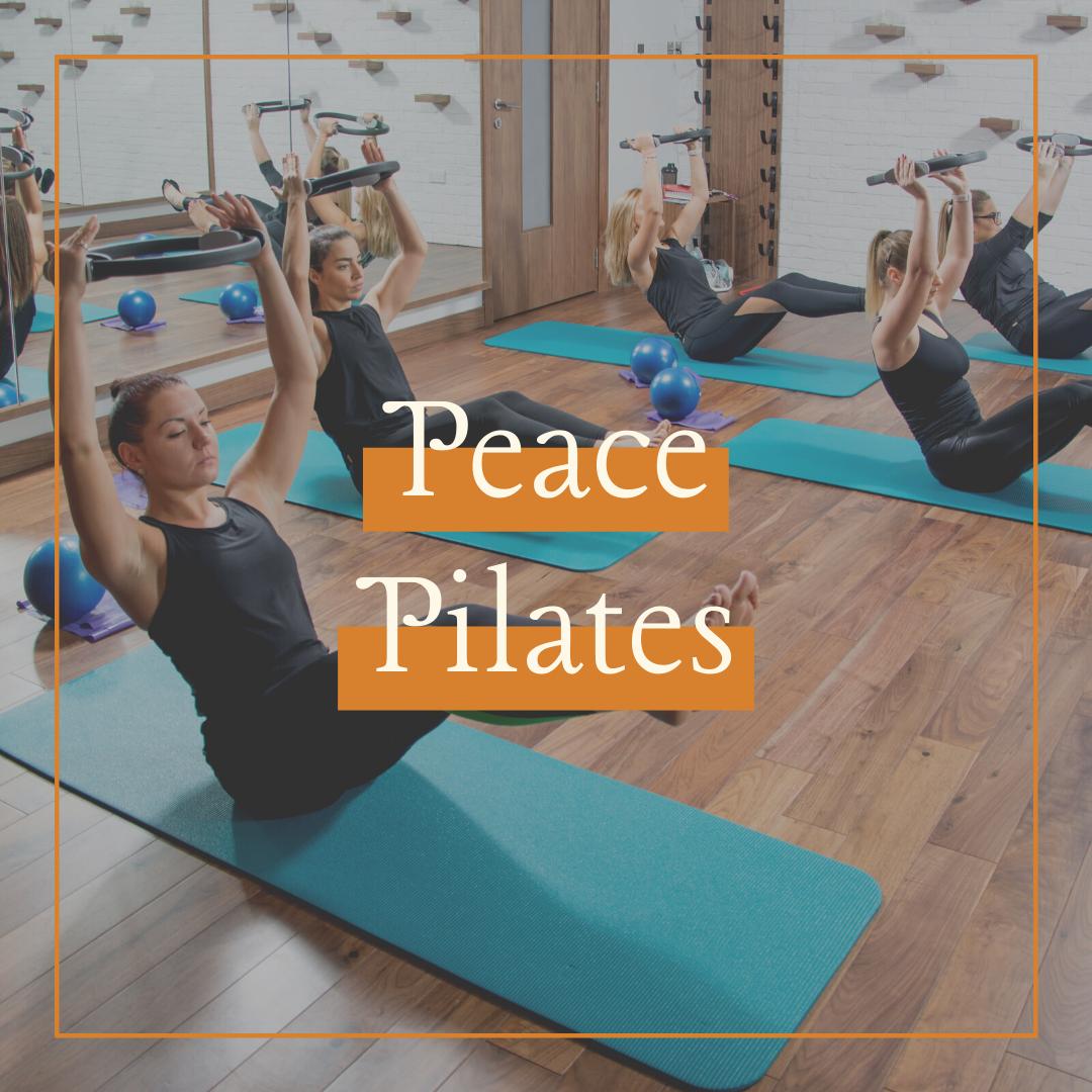 Wednesday   Peace Pilates   7.30pm