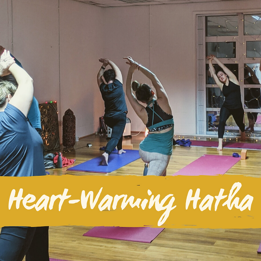 8-Week Heart-Warming Hatha Package (Thursdays 1pm)