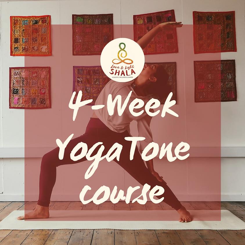 4-Week YogaTone Course (Mondays 6.10pm)
