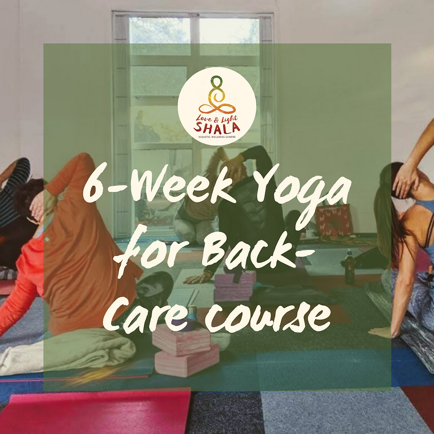 6-Week Yoga for Back-Care Course (Fridays 12pm)