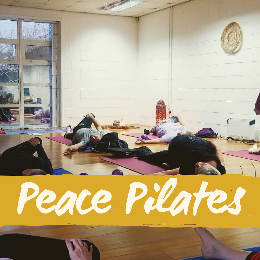 5-Week Peace Pilates Package (Wednesdays 6.30pm)