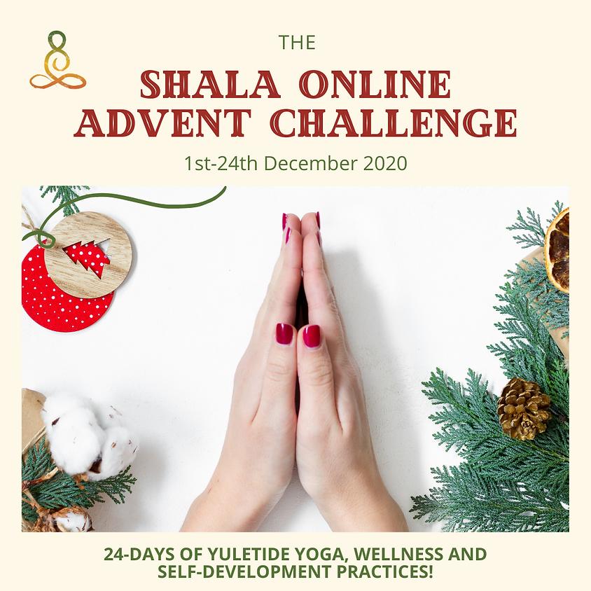 The Shala Online Advent Challenge