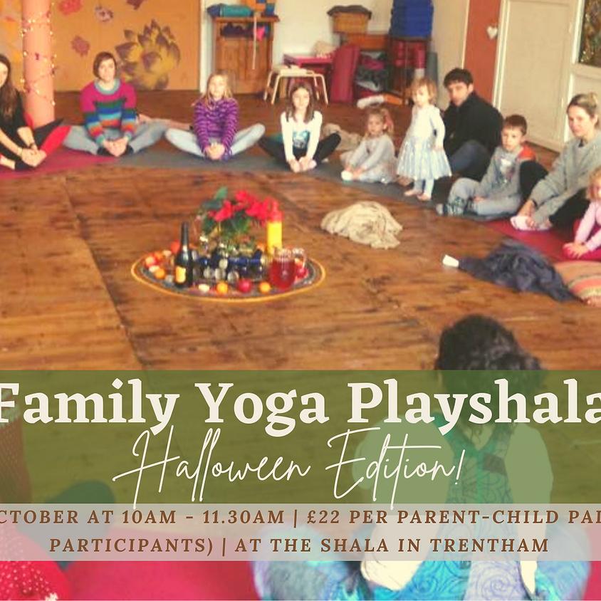 Family Yoga Playshala: Halloween Edition