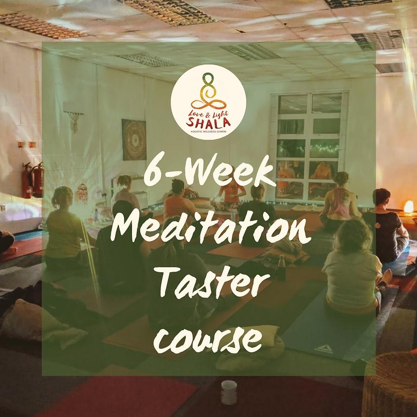 6-Week Meditation Taster Course (Wednesdays 6.10pm)