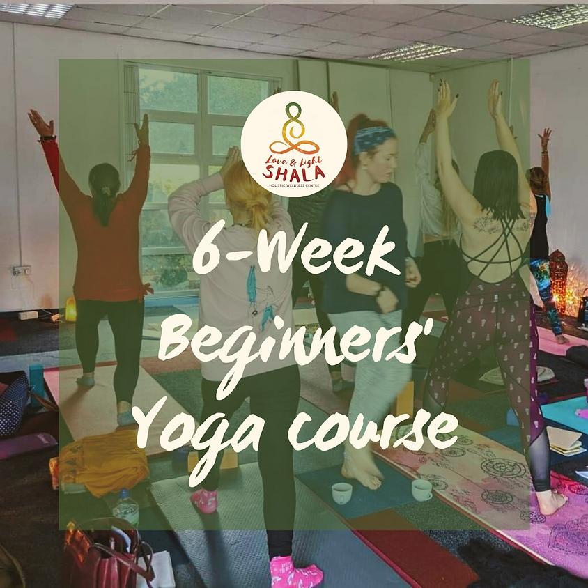 6-Week Yoga for Beginners Course (Saturdays 9am)