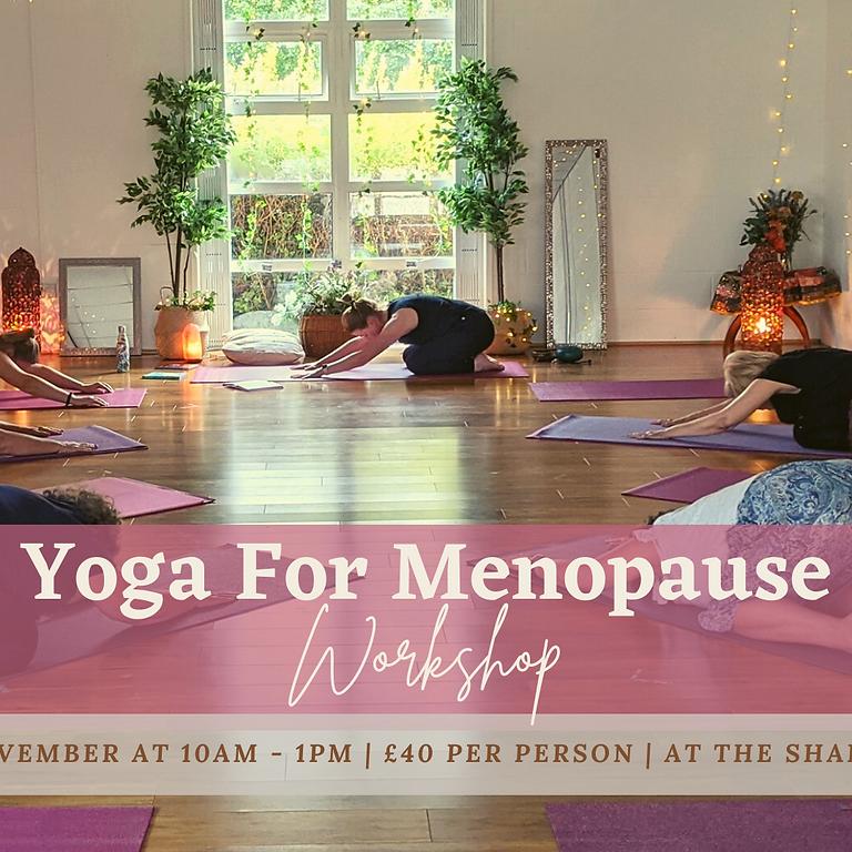Yoga For Menopause Workshop