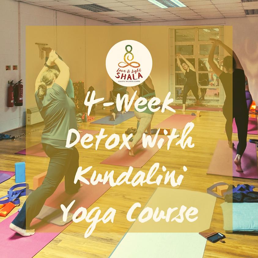 4-Week Detox with Kundalini Yoga Course (Thursdays 6.10pm)