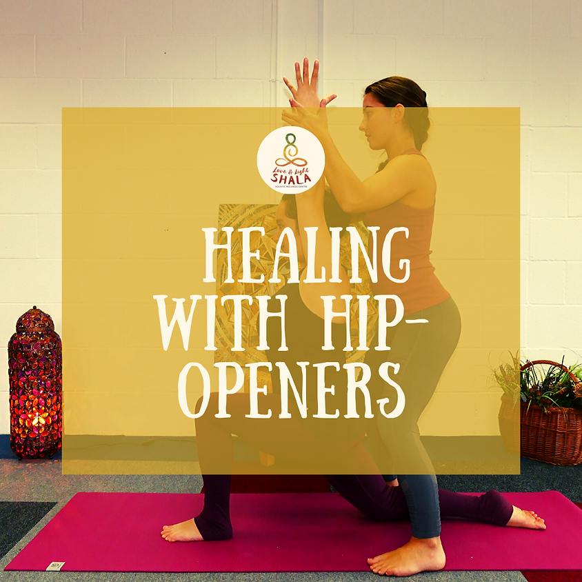 Healing with Hip-Openers Workshop