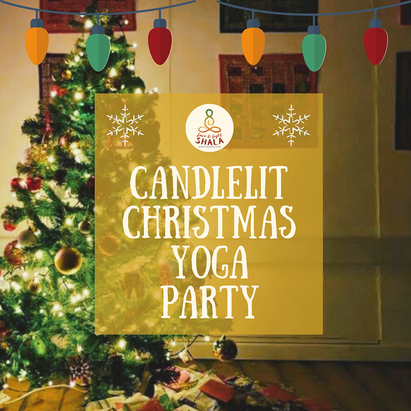 Candlelit Christmas Yoga Party
