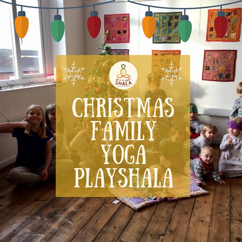Christmas Family Yoga Playshala