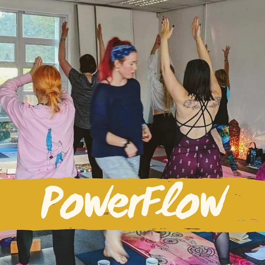 4-Week PowerFlow Package (Fridays 6.30pm)