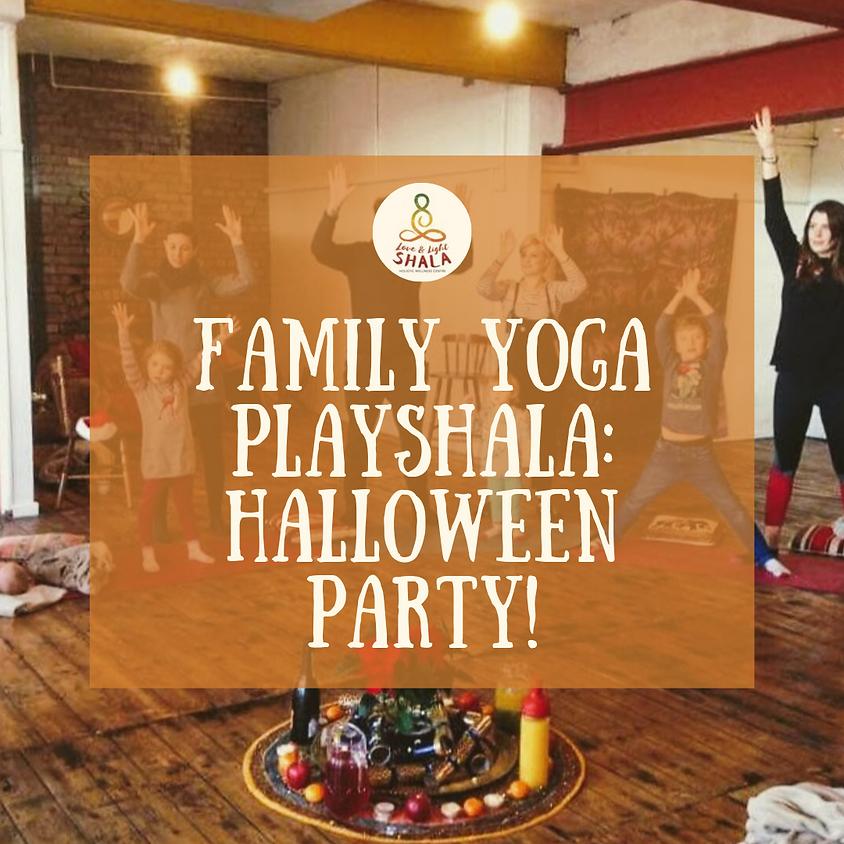 Halloween Family Yoga Playshala