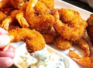 Fried Shrimp w/EIEIO Tartar Sauce