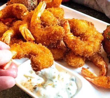 Fried Shrimp w/EIEIO Tartar Sauce