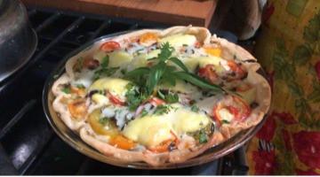 Homegrown Tomato Pie